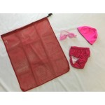 Learn to Swim Bundle, Mesh Storage Bag, Classic Goggles, Lycra Swim Cap, Swim Nappy Re Usable Enviro Friendly